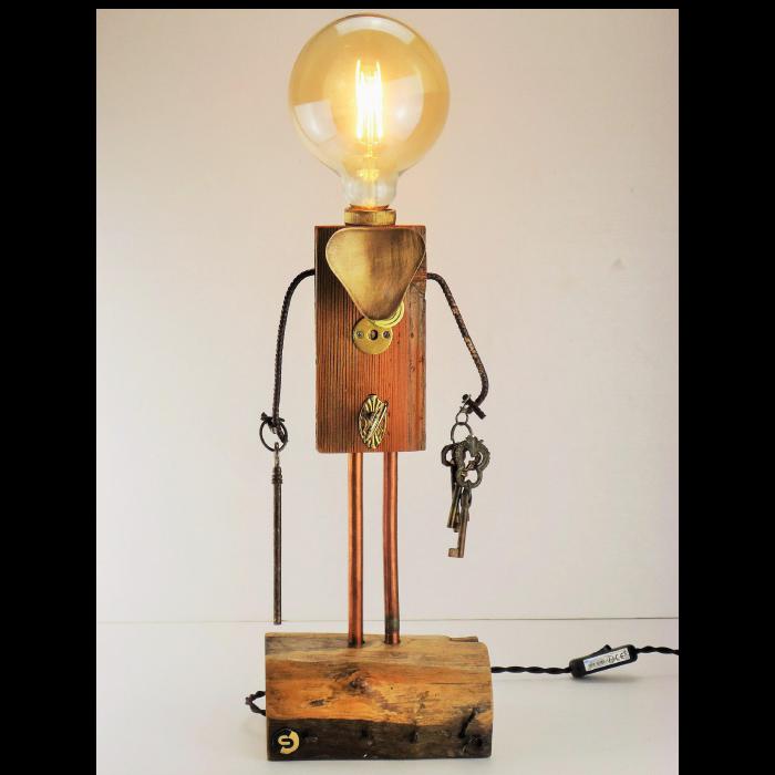 lampada artigianale
