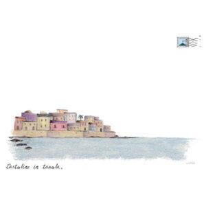tovaglietta all'americana Ortigia-Borgo-siciliano-sul-mare